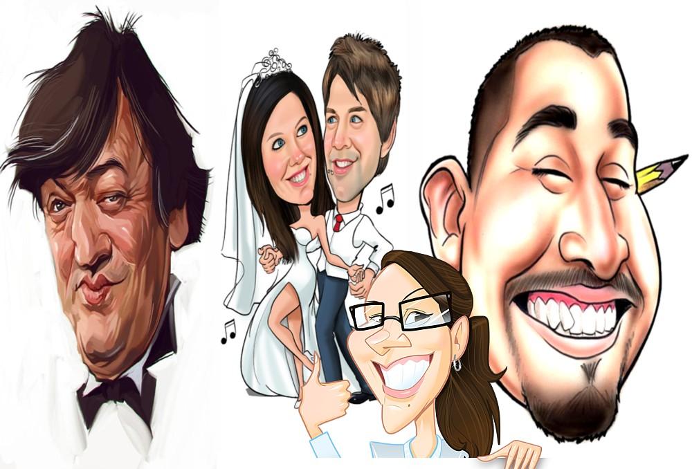 Caricaturist - Caricatures - Cartoon Artist