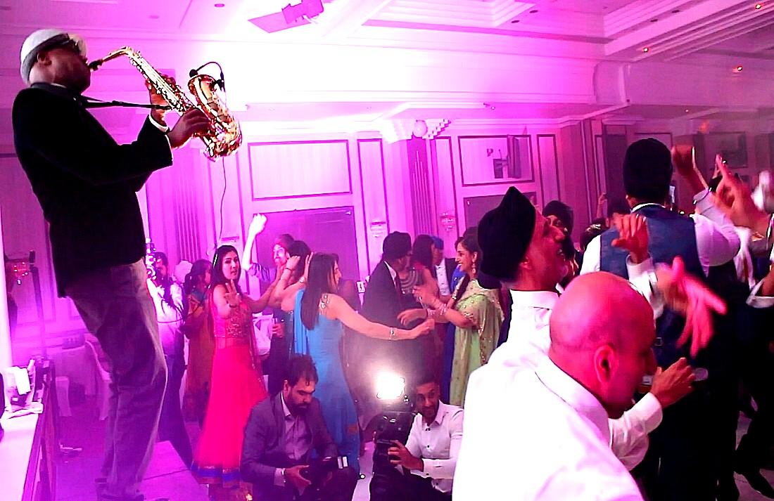 Bollywood Saxophonist