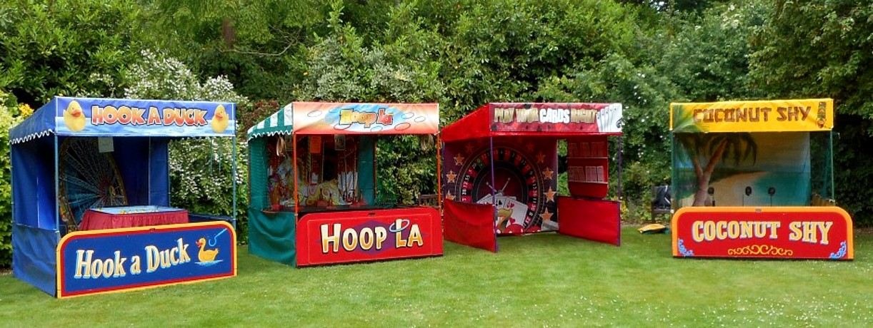 Shooting Gallery Amp Funfair Side Stalls For Hire In Uk
