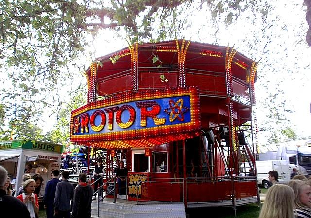 Rotor Funfair Ride-71272